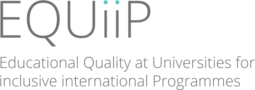 Educational Quality at Universities for international inclusive Programmes – EQUiiP programme